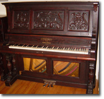Crystal Clear Piano Antiques